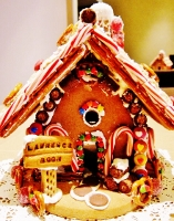 first gingerbread house (439x560) (157x200)