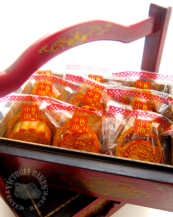 traditional moon cakes