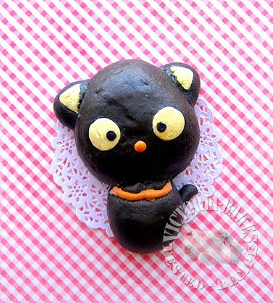 chococat bamboo charcoal bun