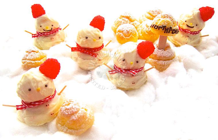 my choux buns winter-wonderland (ɔˆ ³(ˆ⌣ˆc)