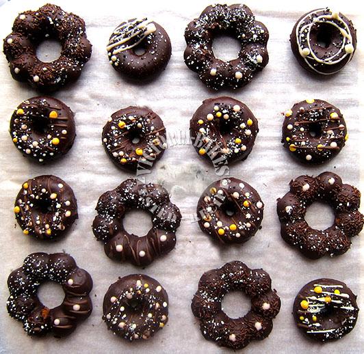 steamed cake doughnuts
