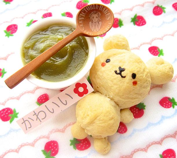 rag~doll haiji bun & homemade pandan kaya (͒⑅′࿉‵⑅)͒ෆ*
