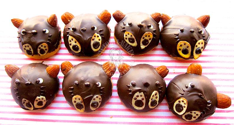 almond london cookies 伦敦杏仁曲奇 | (• □•) | (❍ᴥ❍ʋ)