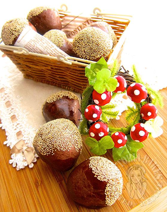 chestnut baked dessert 板栗烧果子。^‿^。