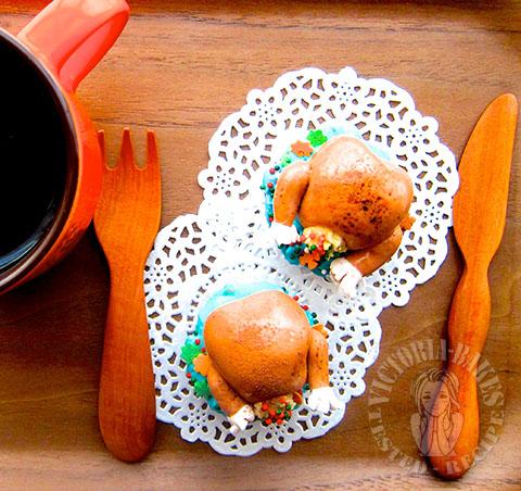 pecan pie cupcake