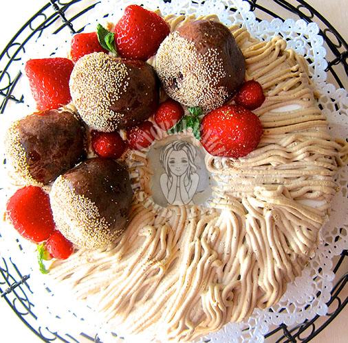 almond meal chiffon cake