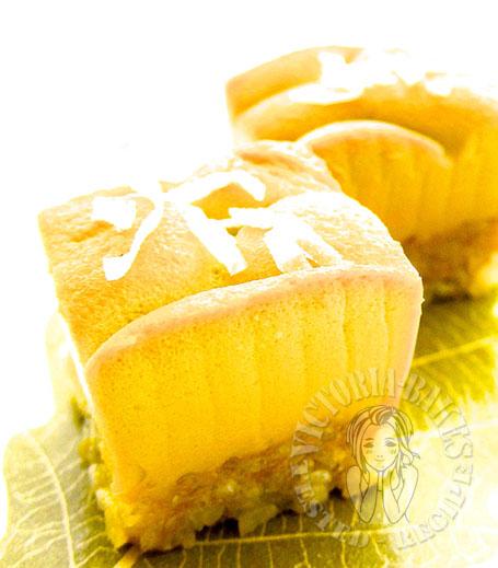 pandan sweet rice layer cake