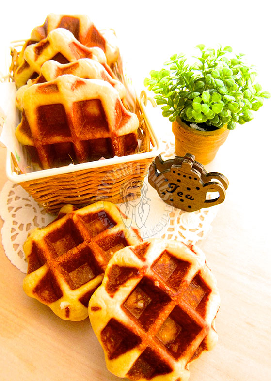 true belgium waffles