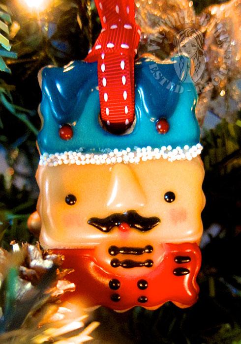 nutcracker christmas ornaments gingerbread cookies 胡桃夹子圣诞装饰姜饼 (•̪┌┐•̪) ♥