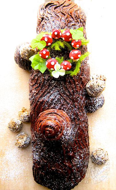chocolate brioche