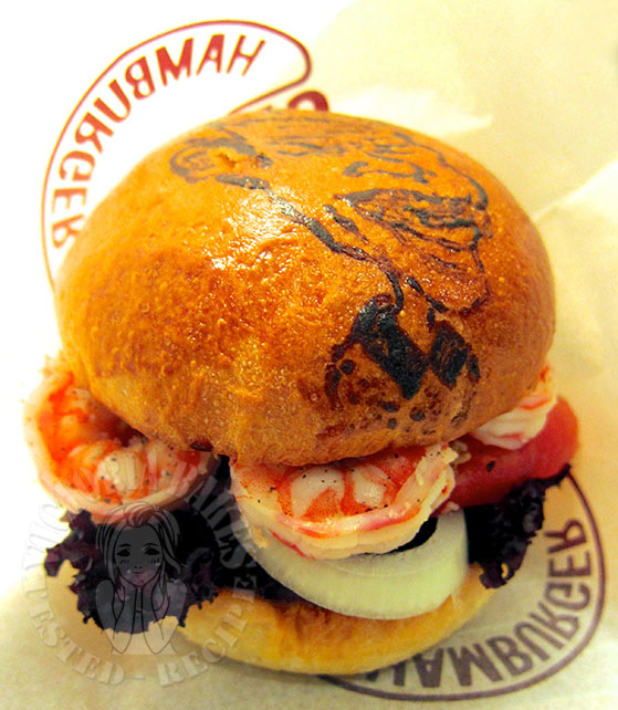 light brioche burger