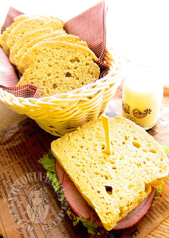 super soft and chewy gluten-free sandwich bread 超软超Q无面筋土司