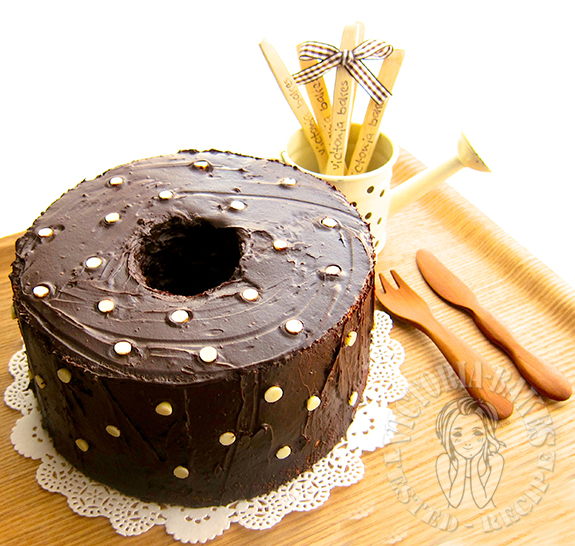 black & white angel food cake Carol 老师的黑与白天使蛋糕 | (• □•) | (❍ᴥ❍ʋ)