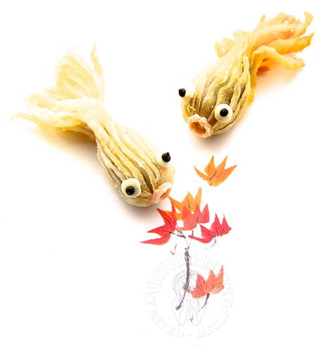 goldfish puff pastry 金鱼酥 ❥᷁)͜͡˒⋊