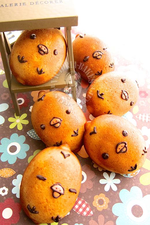 kiiroitori orange madeleines 橙香玛德琳 Ψ(●◜ ཅ ◝●)Ψ