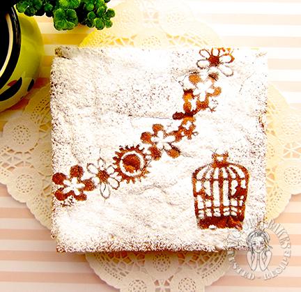 "pandan magic custard cupcake (⁎ ✪͡ ◡͐✪͡ ⁎)ノ"" 香兰魔术卡士达小蛋糕"