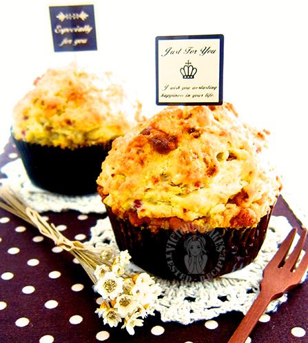 fancy department store muffins 在家自己做商场大头马芬꒰ღ˘‿˘ற꒱❤⃛