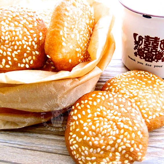 mini ham chin peng (savoury pancake) 迷你咸煎饼