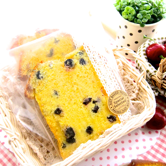 blueberry orange butter cake 蓝莓香橙黄油蛋糕
