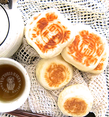 qiao bing (chinese pan fried thin pastry) 巧饼(巧果)