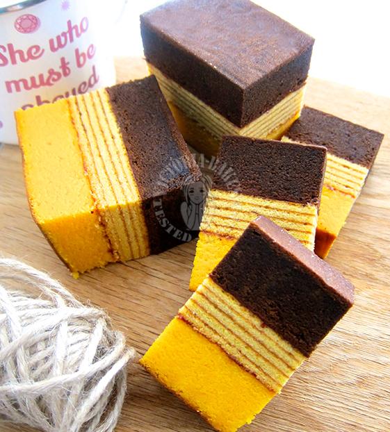 cream cheese lapis legit & surabaya layered cake ~ highly recommended 苏拉巴亚奶油奶酪千层蛋糕 ~ 强推