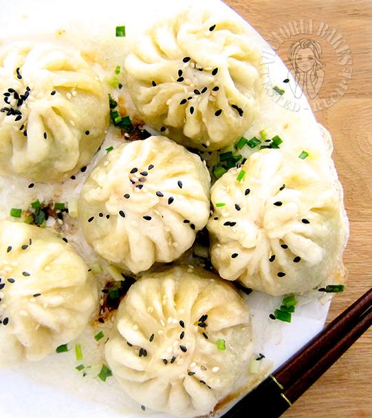shanghainese panfried bun (starter dough) 上海生煎包 (老面法)