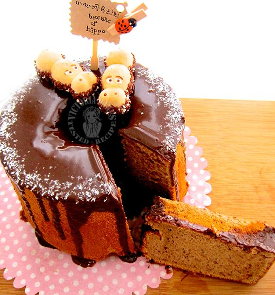 milo chiffon cake 美禄戚风蛋糕
