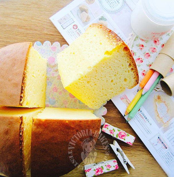 coconut cotton cake ~ how to make cotton cake 椰香棉花蛋糕~棉花蛋糕怎么做