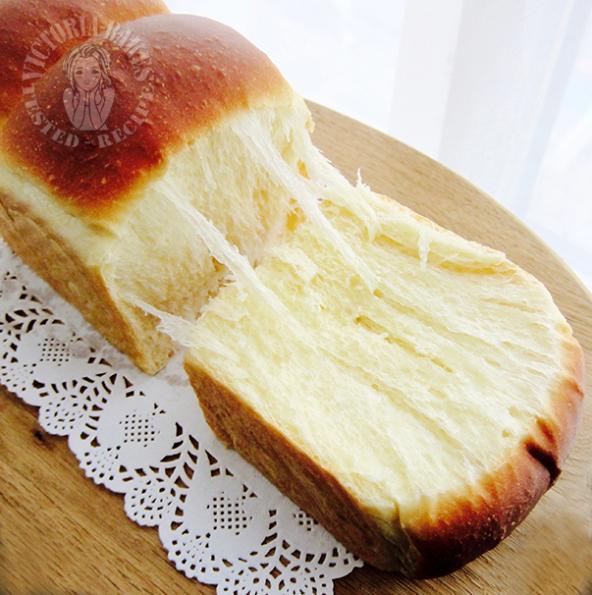 the killer toast ~ super uber soft (just one proofing) ~ highly recommended 万人迷夺命软吐司(一次发酵)~强推