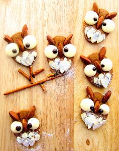 owl caramel cookies 猫头鹰焦糖饼干 ◎▼◎