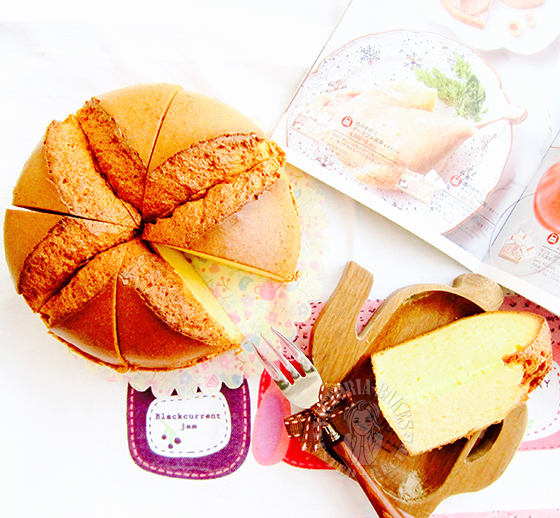 authentic japanese hokkaido chiffon cake 正宗日式北海道戚风蛋糕
