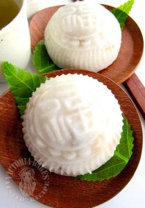 teochew yam kueh (^人^) 潮州香芋粿