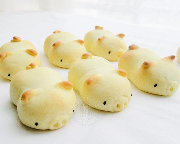 piglet japanese dessert 小猪猪日式烧果子