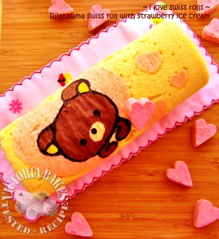 rilakkuma swiss roll again…