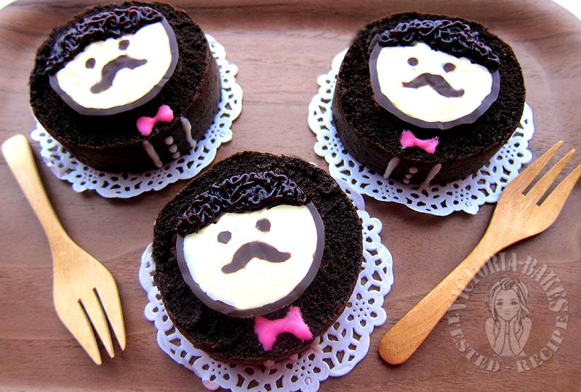 mister dark chocolate swiss roll 绅士黑巧克力蛋糕卷 (´┏o┓`)
