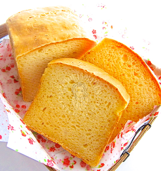 tangzhong GLUTEN FREE japanese milk bread ☆ミ(o*・ω・)ノ