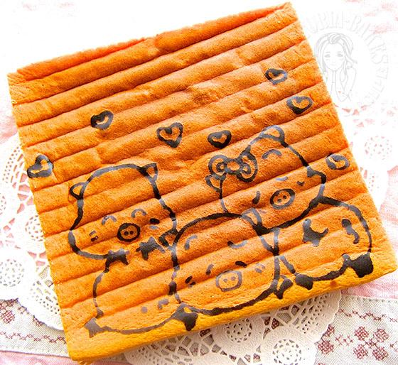cottony cake 棉花蛋糕 (#^.^#)