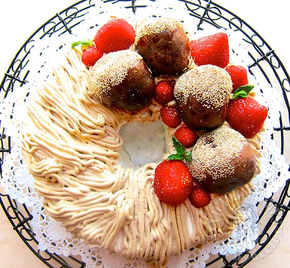 almond meal chiffon cake 杏仁果戚风蛋糕 (^ _ ^)/