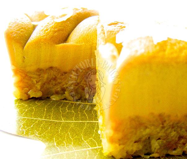 pandan sweet rice layer cake 香兰糯米蒸层糕 (#⌒∇⌒#)ゞ