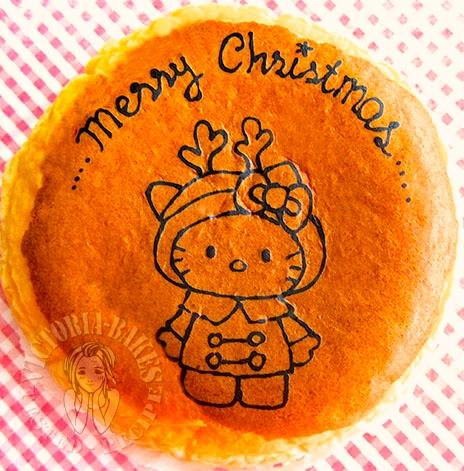 hello kitty souffle cheesecake 凯蒂猫舒芙蕾乳酪蛋糕      (͒⑅′࿉‵⑅)͒ෆ*