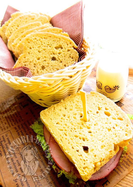 super soft and chewy gluten-free sandwich bread 超软超Q无面筋土司