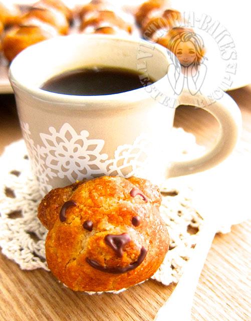 winnie the pooh almond cookies 维尼熊杏仁曲奇 ʕ·͡ˑ·ཻʔෆ⃛ʕ•̫͡•ོʔ
