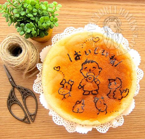 lemon poppy seeds ogura cake 柠檬罂粟籽相思蛋糕 (*^。^*)