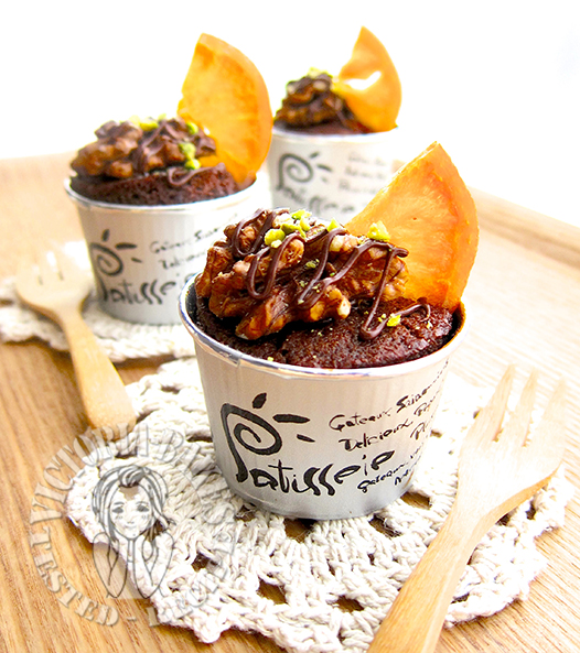 chocolate orange miniature loaves (Nigella Lawson) 迷你香橙巧克力蛋糕