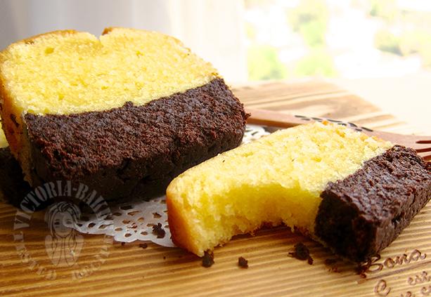 brownie butter cake 布朗尼黄油蛋糕 (∩˃o˂∩)♡