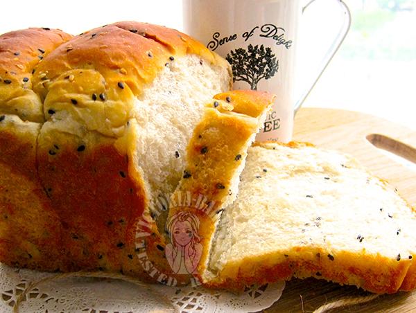 chef nishikawa's 85% hydration sesame toast  西川功晃芝麻吐司 (含水量85%)ᕦ(ò_óˇ)ᕤ