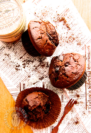 make starbucks hot cocoa chocolate chip muffins in 35mins 35分钟做出星巴克热可可巧克力马芬 ˚₊*(ˊॢo̶̶̷̤◡ुo̴̶̷̤ˋॢ)*₊˚⁎