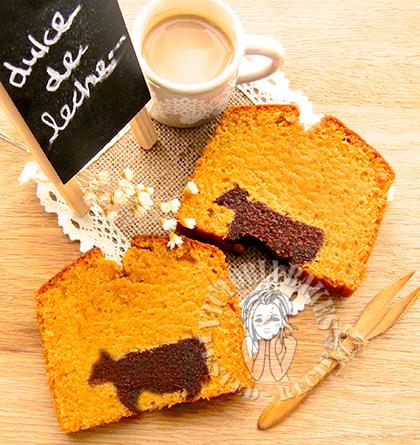 dulce de leche pound cake 牛奶焦糖磅蛋糕 Ψ(●◜ ཅ ◝●)Ψ