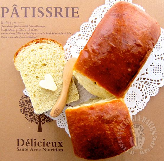 soft kaya bread 松软咖椰吐司面包 ♥(✿ฺ´∀`✿ฺ)ノ
