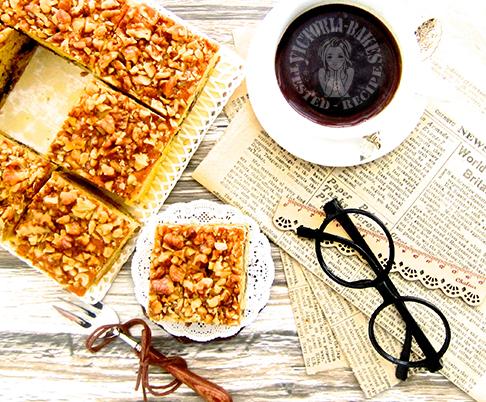 walnut nutella tionk tionk butter cake ~ win US$160 paypal cash 弹力十足核桃巧克力酱黄油蛋糕 ~ 160美元贝宝奖金等您赢取